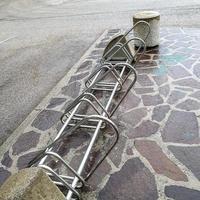 porte-vélos de stationnement photo