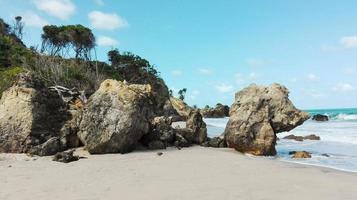 paysage naturel brésilien de la côte photo