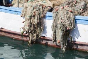 détail de filet de pêche photo