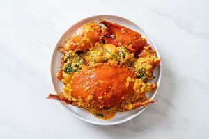 crabe sauté au curry photo
