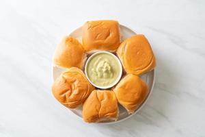 pain à la crème de pandan thaï photo