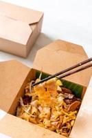 nouilles de riz chinoises à la vapeur photo