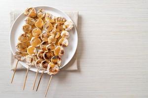 banane grillée sauce caramel photo