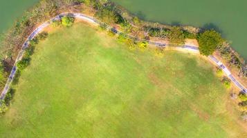 vue aérienne du parc photo