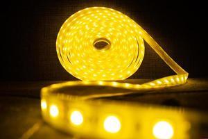 rouleau led de ruban décoratif brillant led bande lumineuse photo