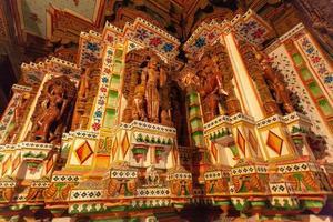 Seth Bhandasar Jain temple à Bikaner, Rajasthan, Inde photo