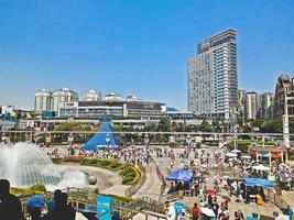 Centre-ville de la ville de Shenzhen, Chine photo