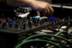 dj et mixeur photo