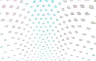 lumières colorées rondes sur fond blanc photo