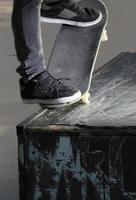 détail de truc de skateboard photo