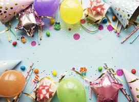 joyeux anniversaire ou fond de fête photo