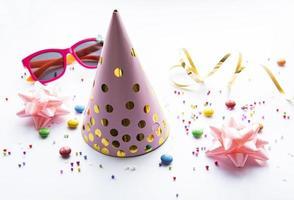 casquettes de fête d'anniversaire photo
