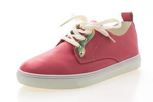 chaussures femme sur fond blanc photo