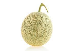 melon sur blanc photo