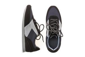 chaussures décontractées sur blanc photo