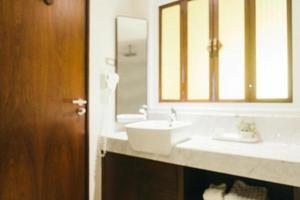 salle de bain flou abstrait photo