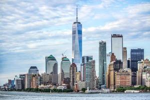 horizon de la ville de new york manhattan - 2017 photo