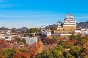 Château de himeji aka château d'aigrettes blanches à Hyogo, Japon photo