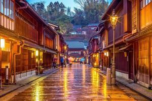 district de higashi chaya à kanazawa, japon photo