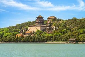 Colline de la longévité au palais d'été à Pékin, Chine photo