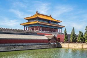 Porte de la puissance divine de la cité interdite, Pékin, Chine photo