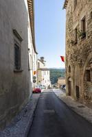 architecture des rues et des bâtiments du centre d'amelia photo