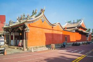 temple d'état du dieu martial à tainan, taiwan photo