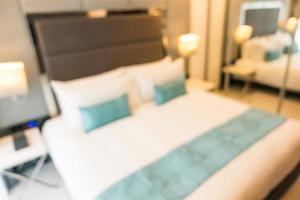 abstrait flou intérieur chambre à coucher défocalisé photo