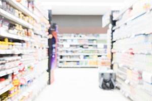 supermarché flou abstrait photo