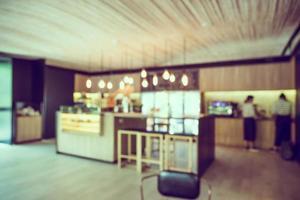 café flou abstrait photo