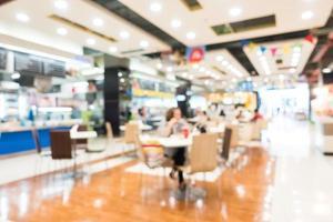 flou abstrait et centre commercial bokeh et magasin de détail photo