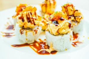 fromage à la crème sushi photo