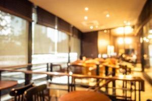 flou abstrait et café-restaurant défocalisé café et restaurant photo