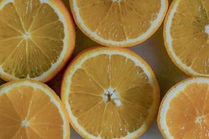 fond de tranche d'orange photo