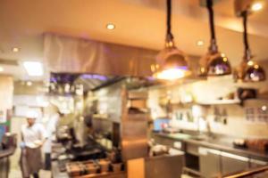 flou abstrait restaurant et café café intérieur photo