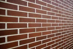 mur de briques marron photo