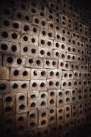 fond de mur avec des briques photo