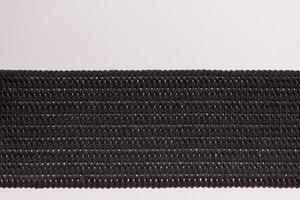 détail bande élastique noire photo