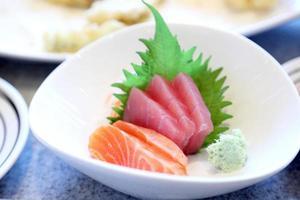 délicieuse cuisine japonaise photo