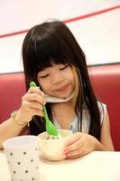 délicieuse crème glacée photo