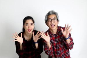 joli couple asiatique photo