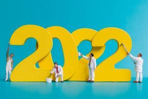 Numéro de peinture de l'équipe de travailleurs miniature 2022 photo