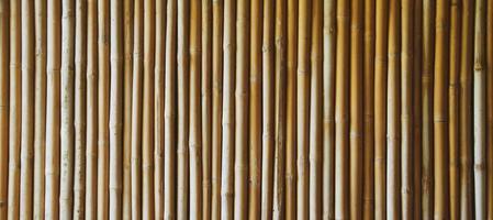 le motif de fond de texture de bambou. photo