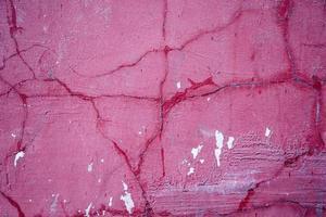 mur de stuc rose vif photo