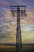 paysage de tour électrique photo