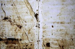 texture de rouille sur le mur en métal photo