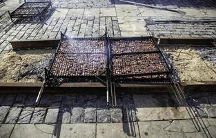 Côtelettes d'agneau grillées photo