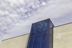 bâtiment moderne en ville photo