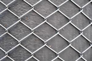 motif de grille métallique et fond de texture photo