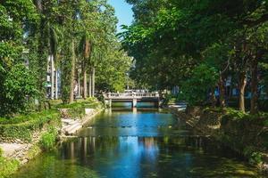 paysage du parc des douves de hsinchu dans la ville de hsinchu, taiwan photo